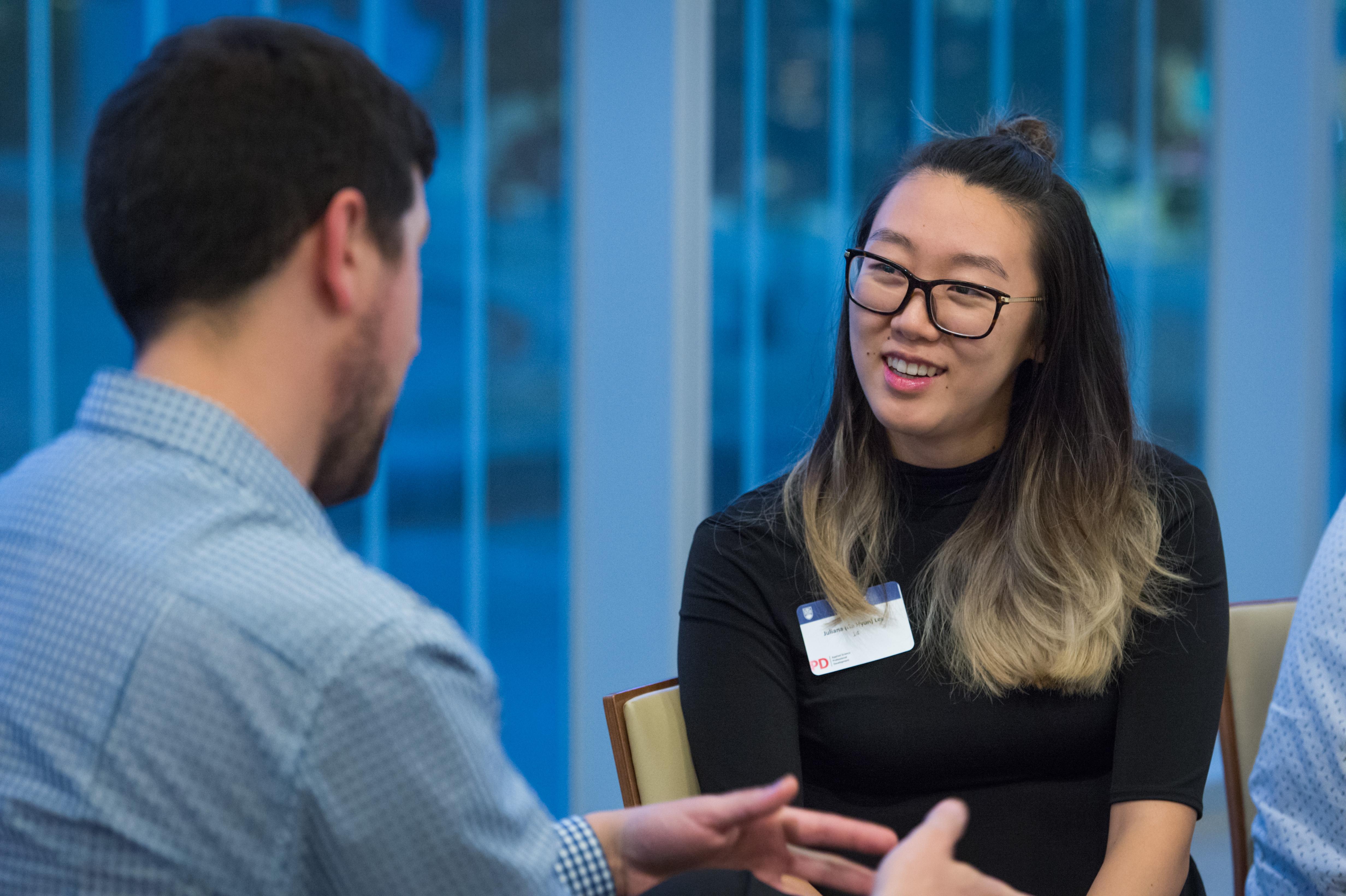 UBC Graduate Students talking